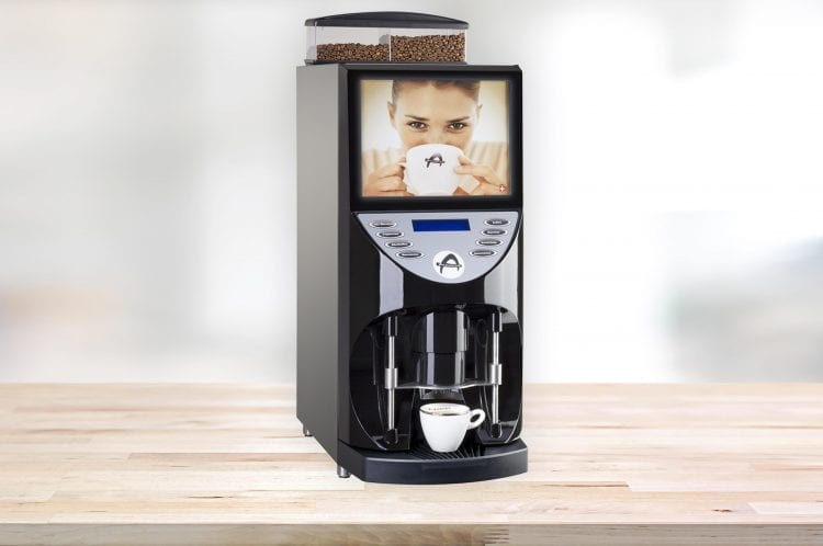 aequator brasil automatic coffee machine with powdered milk