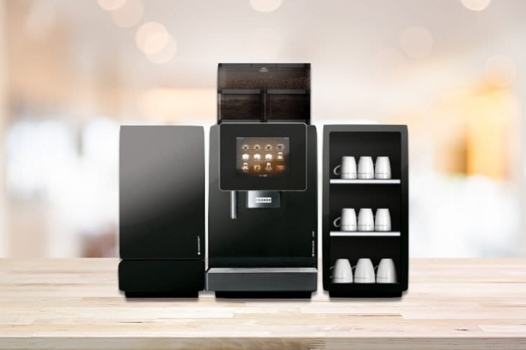 Franke A600 - Automatic office coffee machine with fresh milk