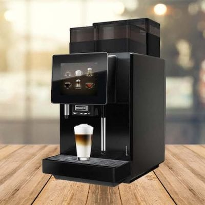 Franke A400 - Bean to Cup office coffee machine with fresh milk