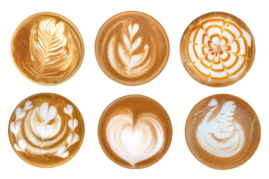 coffee designs for latte art