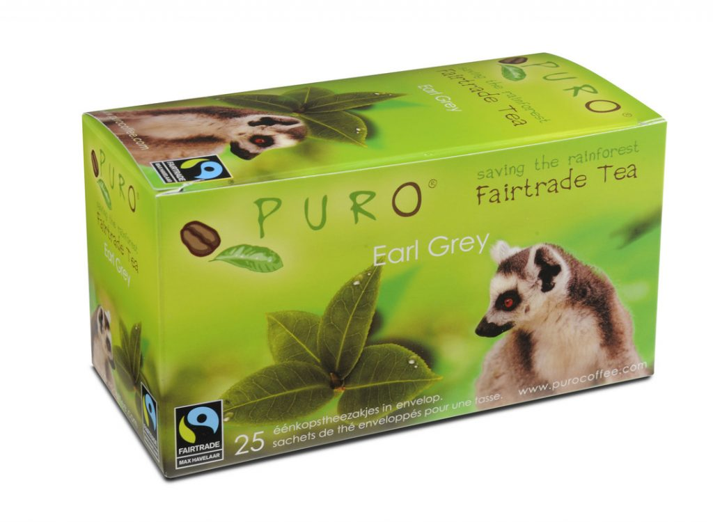 Puro Earl Grey fair trade tea