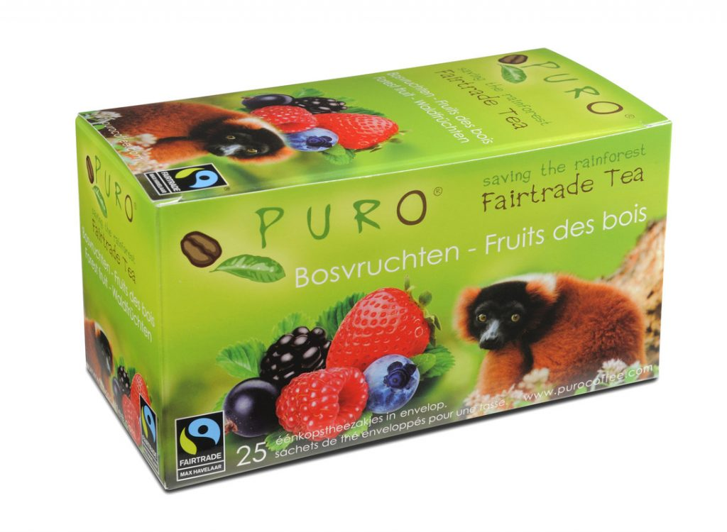 Puro Forest Fruit fair trade tea