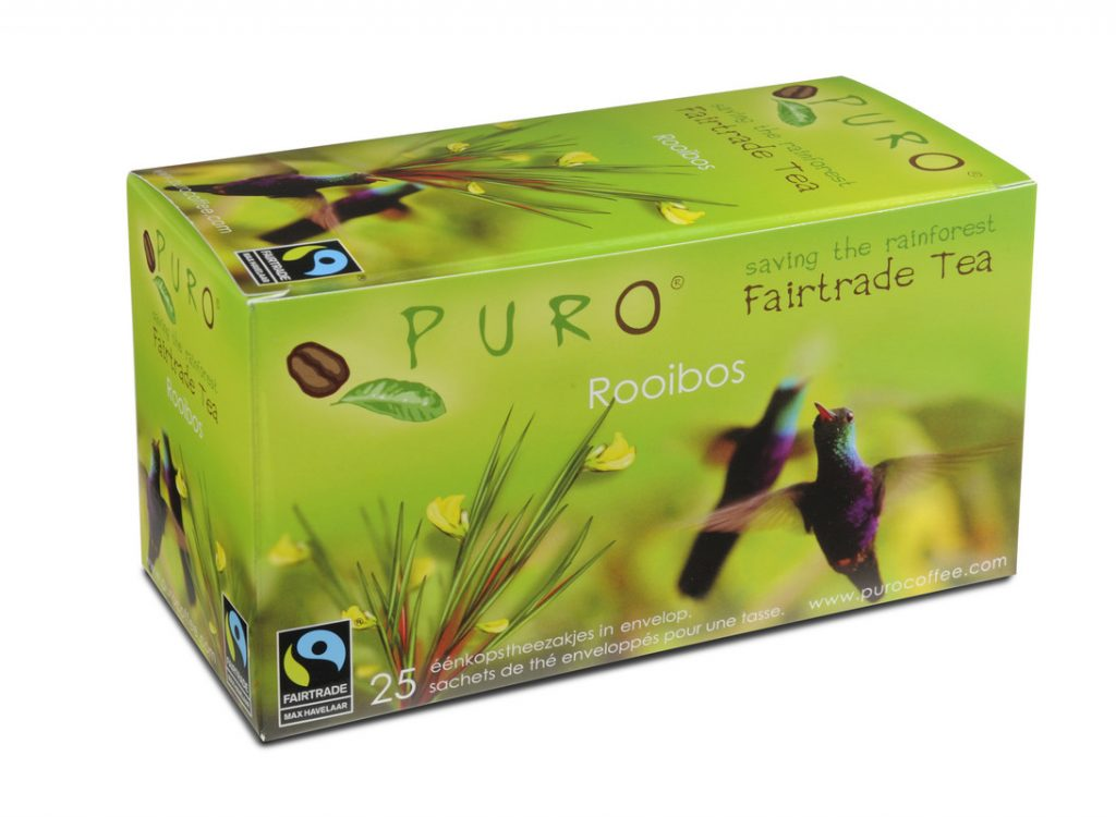 Puro Roobios fair trade tea