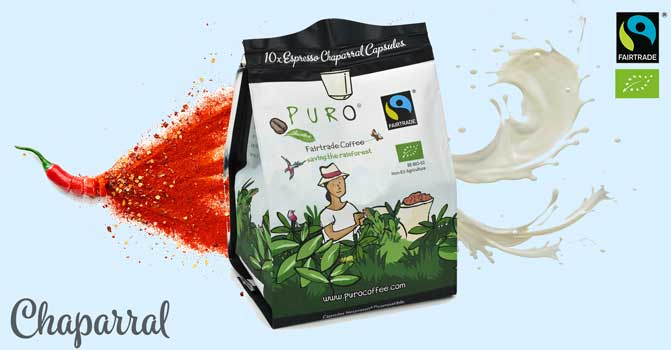 Puro Coffee Capsules - Chaparral